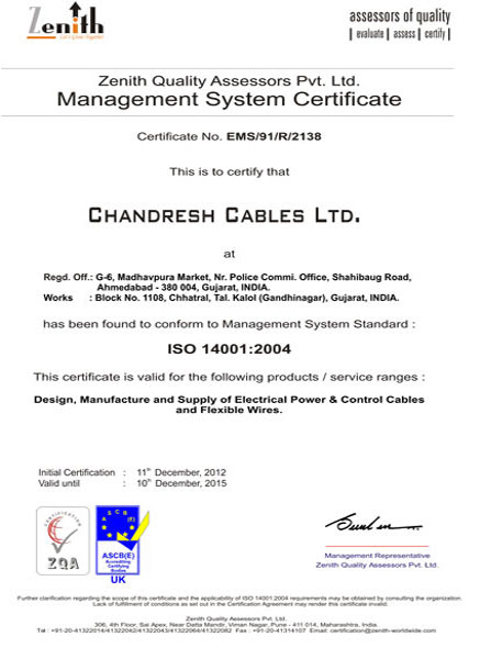 ISO–14001